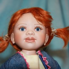 Редкая Рыжуля девочка Dien от Berdine Creedy (10 th Anniversary 2006)