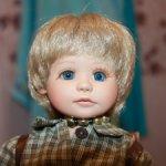 Голубоглазый мальчишка Leon от Gabriele Muller