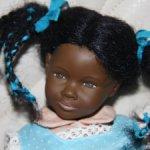 Редкая очаровательная чернокожая девчонка от Хейди ОТТ (Heidi Ott)