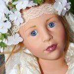 Невеста от GOTZ  Wedding Day от Hildegard Gunzel .2005 год.