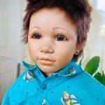 Очень красивый мальчик Кай (Kai) от Annette Himstedt