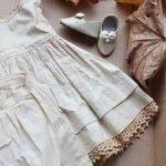 Сорочка, панталоны, туфли для антикварной куклы
