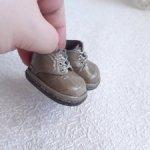 Ботиночки из натуральной кожи для Паола Рейна