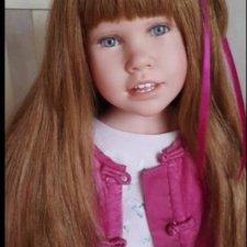 Кукла-девочка от Джулии Фишер. .