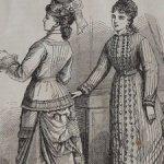 антик.подшивка модных журналов 1876-77гг