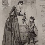 антик.подшивка модных журналов 1889
