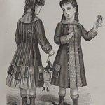 Срочная продажа!  Антик.подшивка модных журналов 1876-77гг
