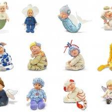 Очаровательные игрушки, куклы-зодиаки от Анны Геддес