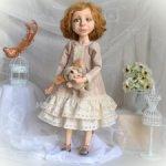 Интерьерная кукла Лиза