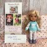 Кукла Meadow dolls Kyrra (Кира) в цвете tan
