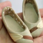 Куплю кожаные балетки и ботинки для куклы со стопой 8:3 см. (Dollstown-17)