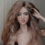 Парик из козочки для кукол Тока доллс, Анатолия Жукова