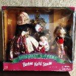 Новогодний сет Барби сестричек 1998 г