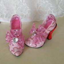 Исторические туфельки. МК. Мисс Бейбики