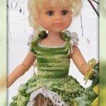 """Мастер-класс """"Принцессы и Феи Дисней: Динь-Динь"""""""" для кукол Paola Reina крючком"""
