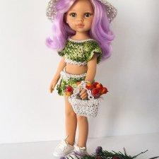 Мастер-класс по вязанию Летней сумочки крючком для кукол Paola Reina