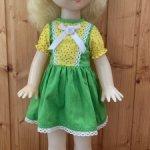 Шагающая кукла Олеся, фабрика сувенирных и подарочных игрушек