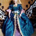 Платье для знатной дамы.  Красивое. Качественное. Подходит коллекционерам.