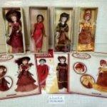 Фарфоровые куколки из коллекции. Новые. В коробках. Недостатков нет.