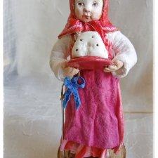 Ватные игрушки к Пасхе
