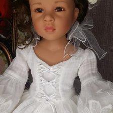 Белоснежное платье на Готц
