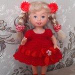 Мини платьица для куколок Келли, Еви