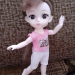 Кукла баболи с набором одежды