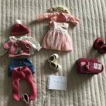 Одежда, обувь и  парик 8-9 Monique для вихтеля