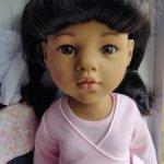 Кукла Ханна - азиатка