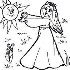 Аишки на солнышке