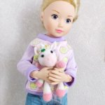 Единорожек для куклы 32 см