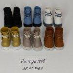 Ботиночки для Блайз,натуральная кожа ,подошва сделана из полимерной глины ,размер по стельке 3.2