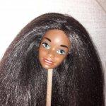 Голова винтажной Барби, перепрошивка