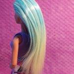 Голова Барби перепрошивка (зелёные волосы)
