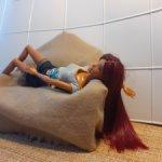 Барби латиноамериканка на шарнирном теле, перепрошивка