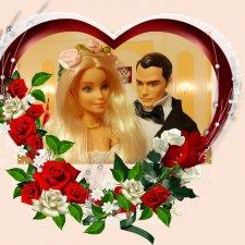 Свадебный фотоальбом для кукол
