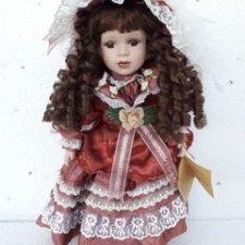 Немецкая фарфоровая кукла RF-Collection