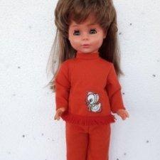 """немецкая винтажная лимитированая кукла """"Emaso"""""""
