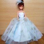Цветочное платье для Барби и аксессуары