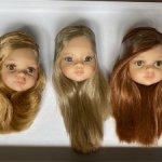 Головы от новых кукол Паола Рейна