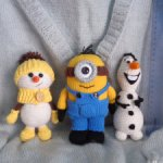 Игрушки, подарок на Новый год, брелок,игрушка для игрушки