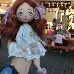 Интерьерная кукла Мари