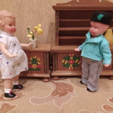 Куклы, пупсы ГДР,  ФРГ,  Италия , Китай