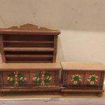 Мебель для кукол из ГДР