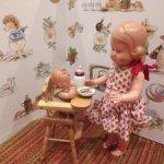 Куклы, пупсы ГДР и ФРГ, Италия