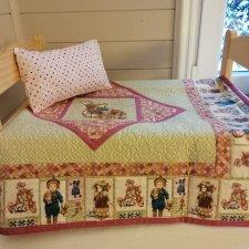 Одеяло квилт для кукол