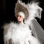Авторская кукла :Царевна -Лебедь