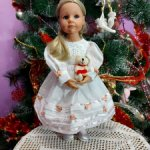 Платье для кукол ГОТЦ  55 см и им подобных