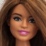 Гибрид Barbie пышки танцовщицы и Барби принцессы молд Дайя в одежде с фото.