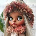 Кукла Блайз кастом Blythe TBL блондинка светлые волосы